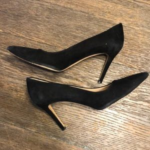J. Crew Everly Suede Pumps. Black. Size 9.